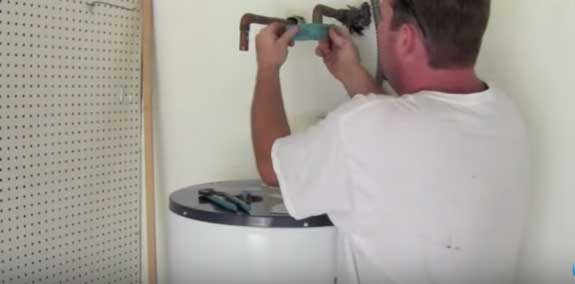 Preparing the pipes for your new water heater