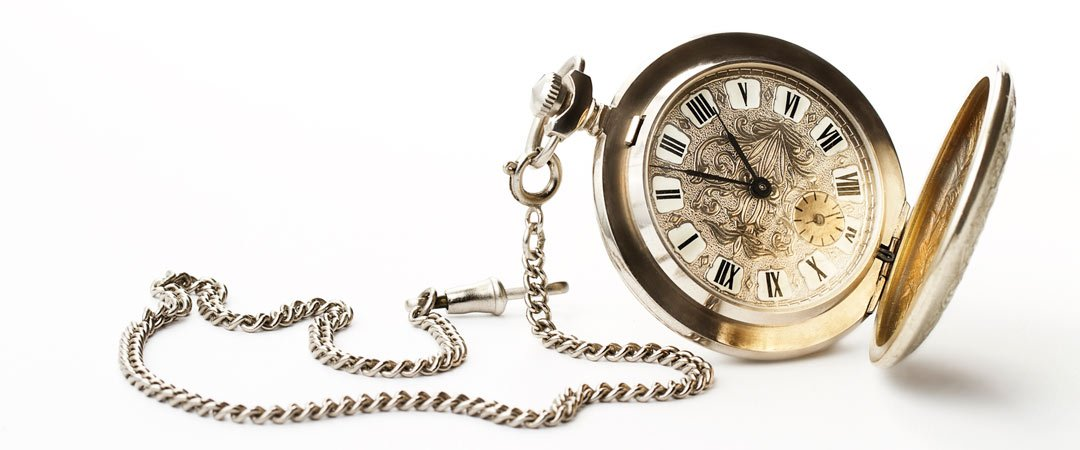 Pocket watch an chain