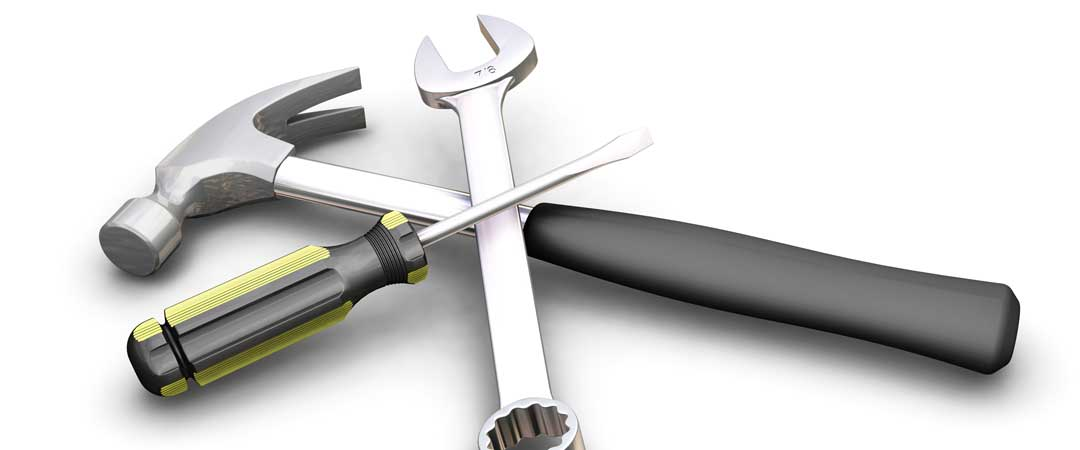 Hammer - Screw Driver - Wrench